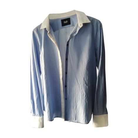 Chemise D&G Bleu, bleu marine, bleu turquoise