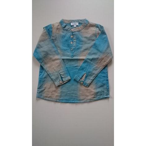 Chemise C DE C BY CORDELIA DE CASTELLANE Bleu, bleu marine, bleu turquoise