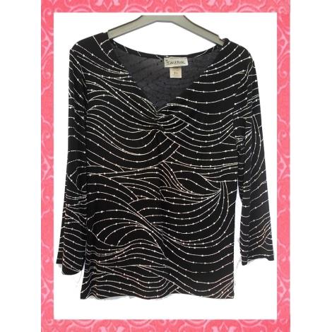 Top, tee-shirt CAROL ROSE Noir