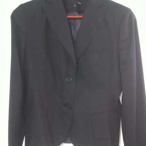 Blazer, veste tailleur ETAM Gris, anthracite
