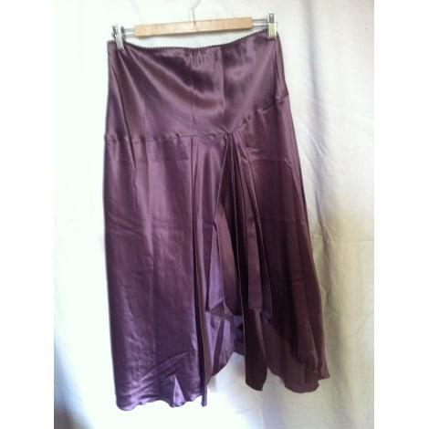 Jupe longue JEFF GALLANO Violet, mauve, lavande