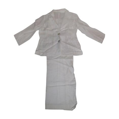 Tailleur pantalon HUGO BOSS Blanc, blanc cassé, écru