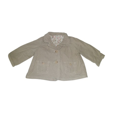 Jacket BONPOINT Beige, camel