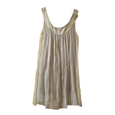 Robe courte MARQUE INCONNUE Beige, camel