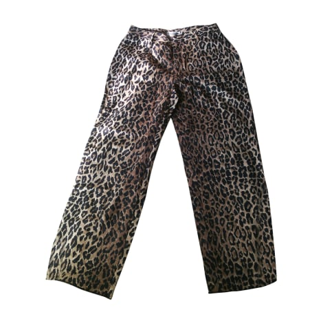 Pantalon droit DOLCE & GABBANA Imprimés animaliers