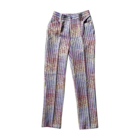 Jeans droit CHRISTIAN LACROIX Multicouleur