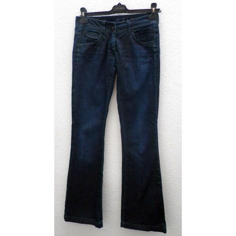Jeans évasé, boot-cut IKKS Bleu, bleu marine, bleu turquoise