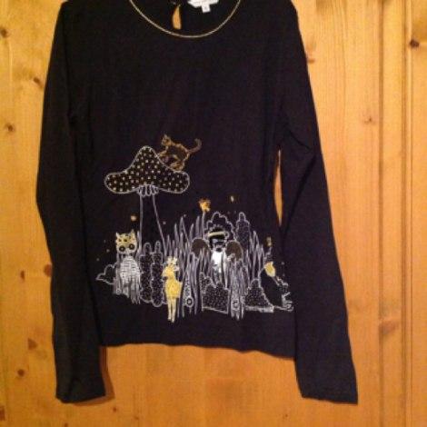 Top, Tee-shirt MARC JACOBS Noir