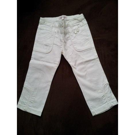 Pantalon REPETTO Blanc, blanc cassé, écru