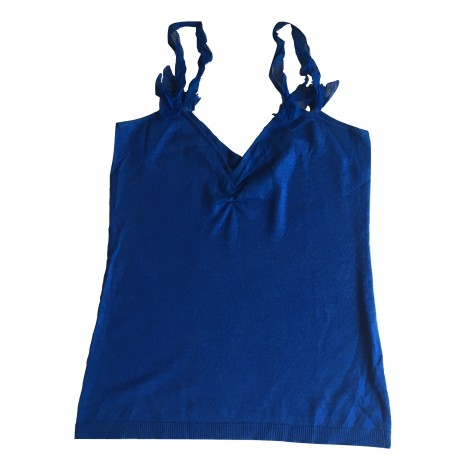 Débardeur LES PETITES... Bleu, bleu marine, bleu turquoise