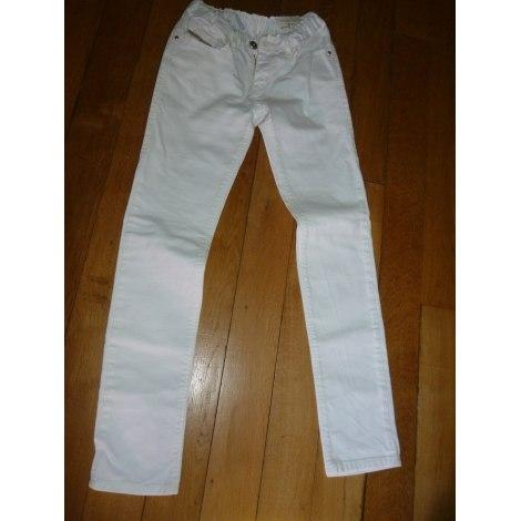 Jeans droit DIESEL Blanc, blanc cassé, écru