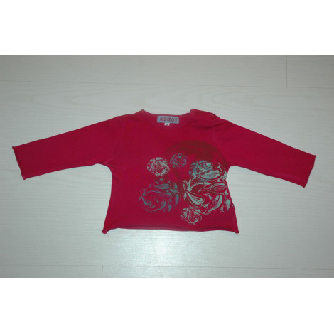 Top, tee shirt KENZO Rose, fuschia, vieux rose