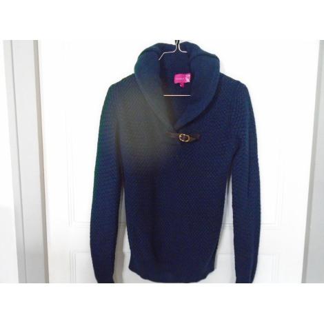 Pull VICOMTE A. Bleu, bleu marine, bleu turquoise