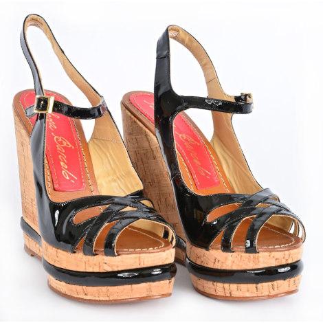 Sandales compensées PALOMA BARCELO Noir