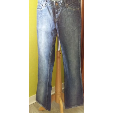 Pantalon droit LEVI'S Bleu, bleu marine, bleu turquoise