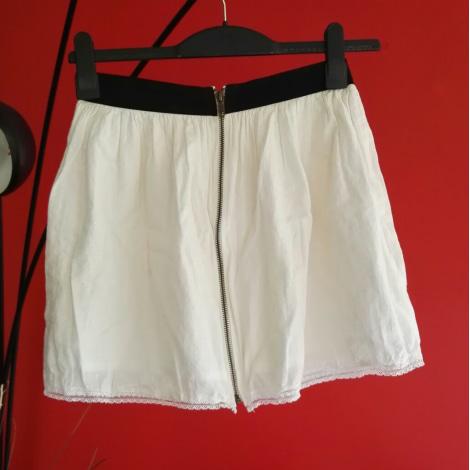 Jupe courte PIMKIE Blanc, blanc cassé, écru