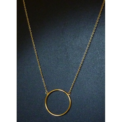 Collier BIJOUXDEMYLENE Doré, bronze, cuivre
