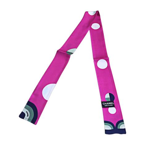 Headband CHANEL Pink, fuchsia, light pink