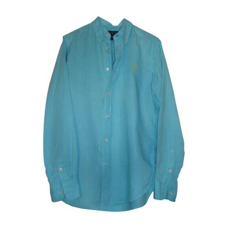 Chemise RALPH LAUREN Bleu, bleu marine, bleu turquoise