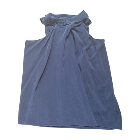 Blouse VANESSA BRUNO Bleu, bleu marine, bleu turquoise