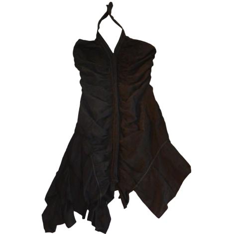 Robe dos nu ONE STEP Noir