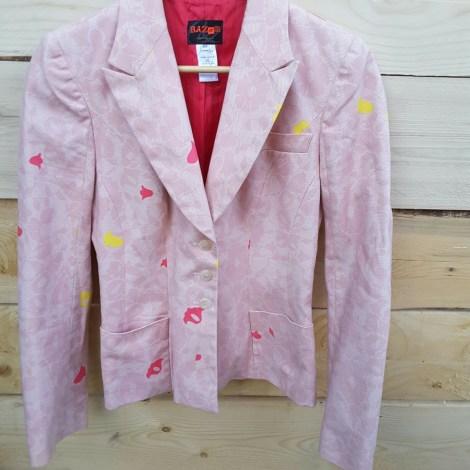 Blazer, veste tailleur CHRISTIAN LACROIX Rose, fuschia, vieux rose