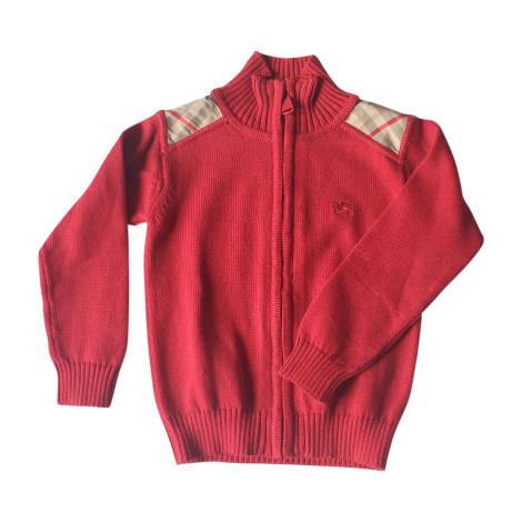 Vest, Cardigan BURBERRY Red, burgundy