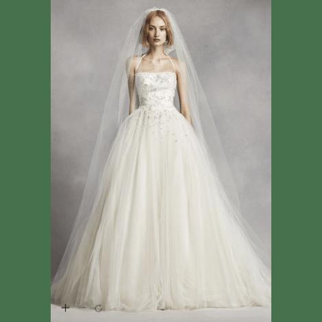 Robe de mariée VERA WANG 36 (S, T1) blanc