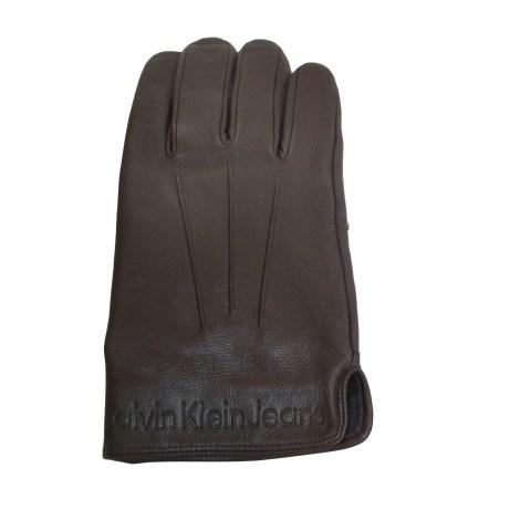 Handschuhe CALVIN KLEIN Braun