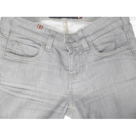 Jeans slim NOTIFY Gris, anthracite