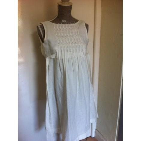 Robe MILA BLUE Blanc, blanc cassé, écru
