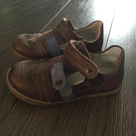 Velcro Shoes DU PAREIL AU MÊME DPAM Brown