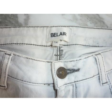 Jeans slim BEL AIR Gris, anthracite