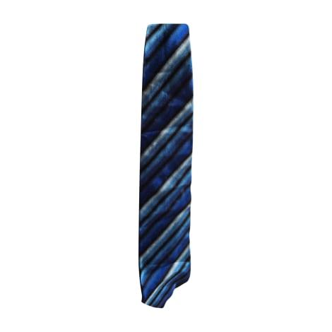 Tie KENZO Blue, navy, turquoise