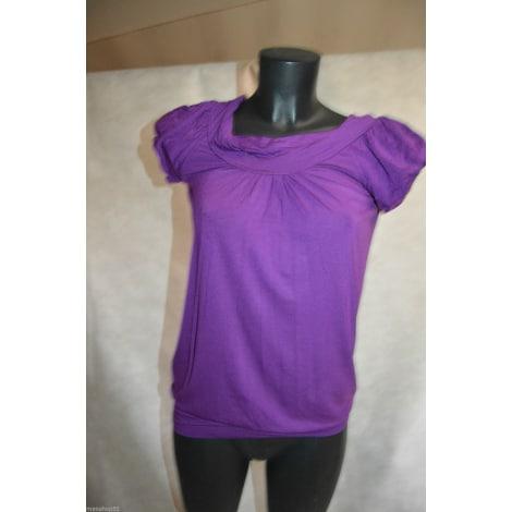 Top, tee-shirt BCBG MAX AZRIA Violet, mauve, lavande