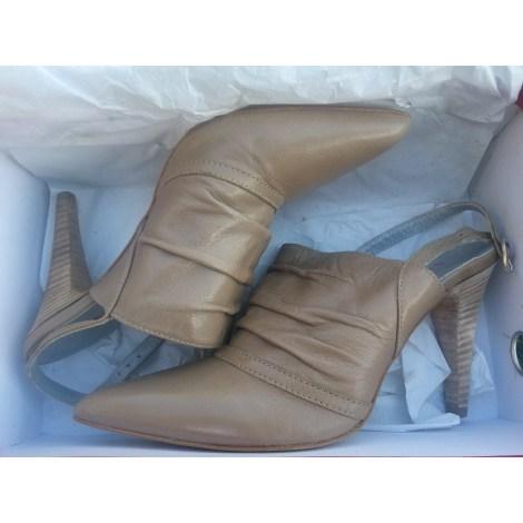 Sandales à talons SAN MARINA Beige, camel