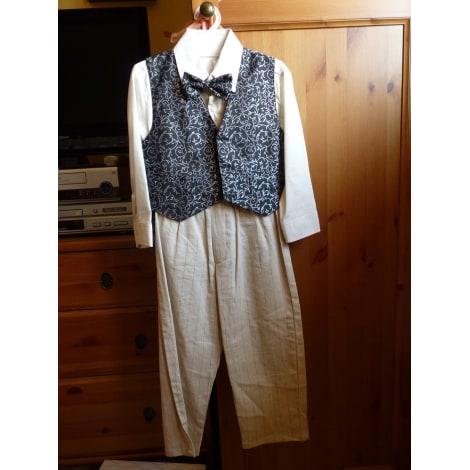 Pants Set, Outfit MARQUE INCONNUE Beige, camel