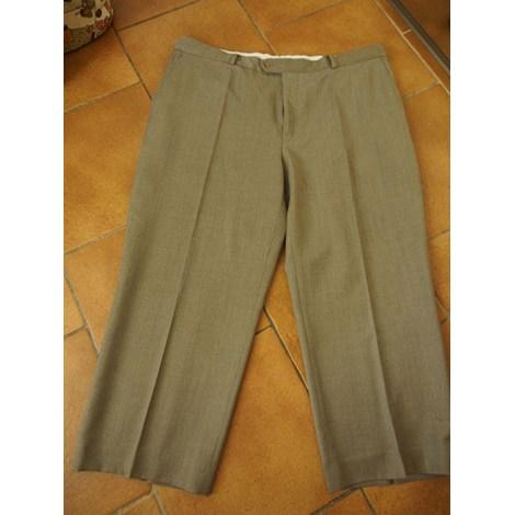 Pantalon de costume DEVRED Marron