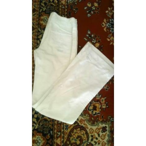 Jeans évasé, boot-cut JENNYFER Blanc, blanc cassé, écru