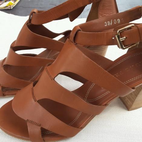 Sandales à talons BRUNO PREMI Beige, camel