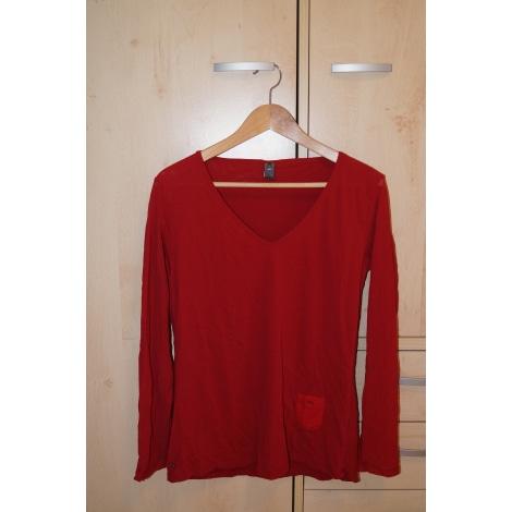 Top, tee-shirt LADY CAPTAIN Rouge, bordeaux