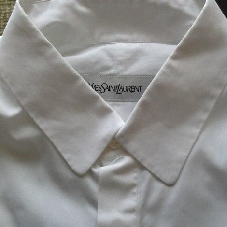 Chemisette YVES SAINT LAURENT Blanc, blanc cassé, écru