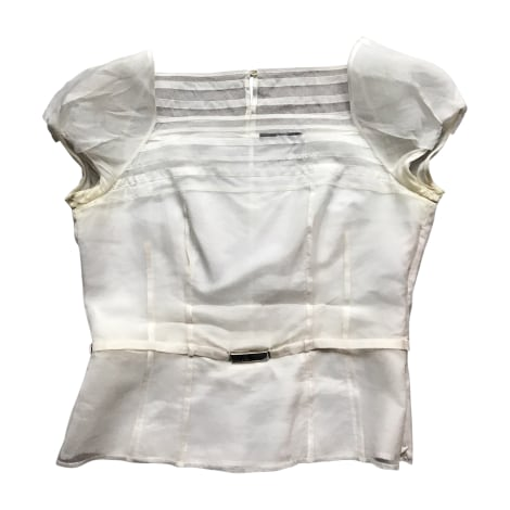 Chemisier HUGO BOSS Blanc, blanc cassé, écru