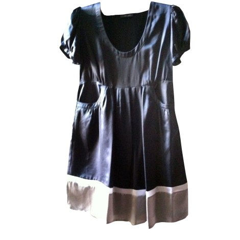 Robe mi-longue BEL AIR Noir