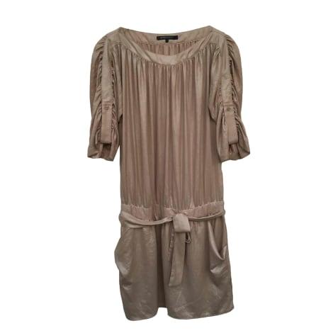Robe courte BCBG MAX AZRIA Beige, camel
