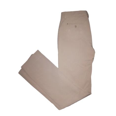 Pantalon droit MAX MARA Beige, camel