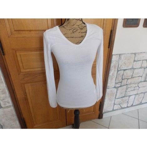 Top, tee-shirt MIM Blanc, blanc cassé, écru