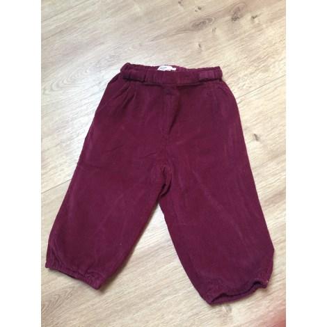 Pantalon JACADI Rouge, bordeaux