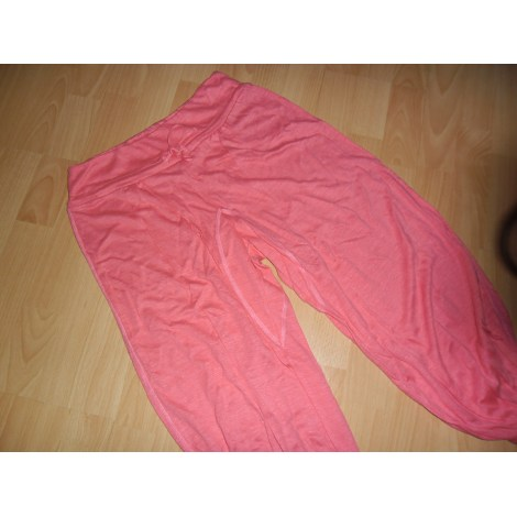 Pantalon large PETIT BATEAU Rose, fuschia, vieux rose