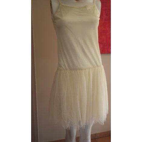 Robe courte MOLLY BRACKEN Blanc, blanc cassé, écru